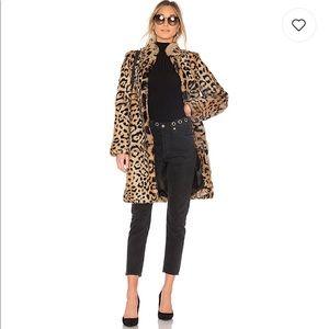 The Jersey Diaries Slade Rabbit Fur Coat